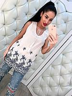 Женская блузка с вышивкой, фото 1