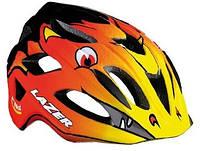 Детский шлем LAZER P'NUT оранжевый разм.46-50cм