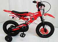 """Детский велосипед """"YUANDA"""" YD-02 12д. Красный."""