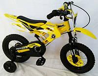 """Детский велосипед """"YUANDA"""" YD-02 12д. Желтый."""