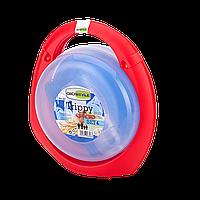 Набор пластиковой посуды для пикника Trippy R4: на 4 персоны, пластиковый кейс, 1,035 кг