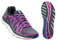 Беговая обувь женская W EM ROAD H3 v2, серый/фиолетов.