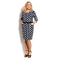 Женское платье-костюм большого размера