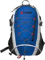 Спортивный рюкзак Daypack 25: полиэстер 300D, 25 л, пояс, 30х17х46 см, 840 г, синий/серый
