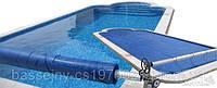 Солярная пленка для бассейна. Пленка для бассейнов. Летнее накрытие для бассейна