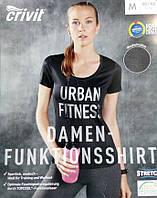 Функциональная женская футболка для спорта topcool от Crivit евро M L