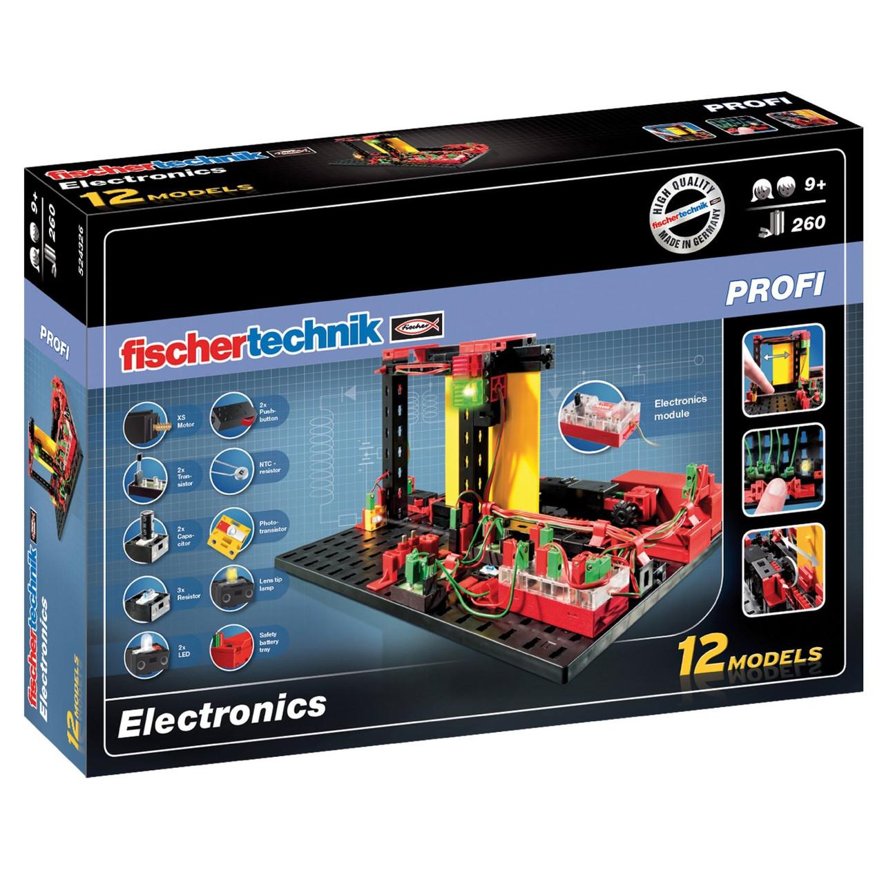 Конструктор Fischertechnik Изучаем электронику (FT-524326)