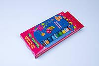 """Мел цветной масляный,масляная пастель,""""Бабочки""""№7569, 12 цветов/упаковка, мелки детские"""