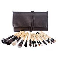 Профессиональный набор кистей для макияжа 18 шт - Make Up Me ISM-18 Черный - ISM18