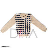 Зимний теплый свитер детский Турция W11-DSV1003-3