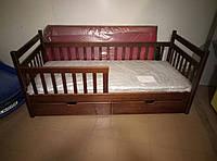 Ліжко дитяче Аліса з масиву буку
