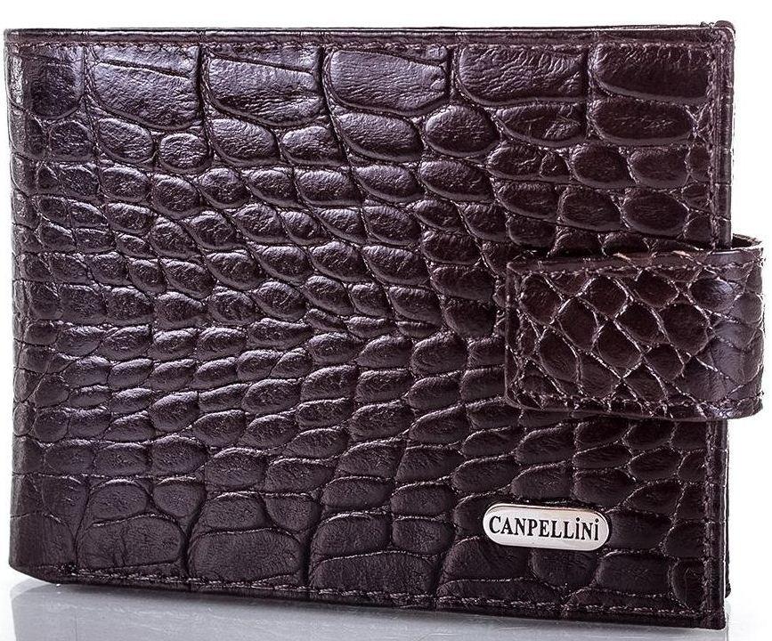 Мужской стильный кожаный кошелек CANPELLINI (КАНПЕЛЛИНИ) SHI1408-11