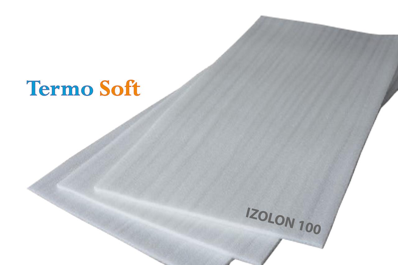 Материал теплоизоляционный. Вспененный полиэтилен НПЭ листовой 50мм, 1*2м