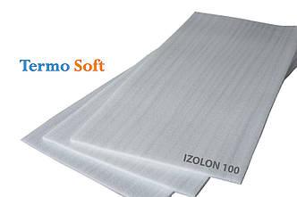 Листовой материал для утепления. Вспененный полиэтилен НПЭ листовой 40мм, 1*2м