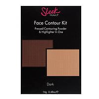 Матовая пудра и хайлайтер - Sleek Makeup Contour Kit Medium # 50390502 - 50390502