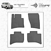 Коврики резиновые в салон Volkswagen Touareg c 2010 (4шт) Stingray