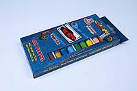 """Мел цветной масляный,масляная пастель,""""Тачки""""№7566, 12 цветов/упаковка, мелки детские"""