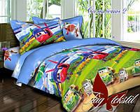 Комплект постельного белья полуторный ТМ Таg Самолеты 2