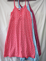 Ночная рубашка на брительках ( 44- 54 )