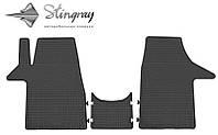 Коврики резиновые в салон Volkswagen T-5 c 2003 (3шт) Stingray