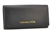 Кожаный кошелек Michael Kors 505 (black)