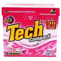 Стиральный порошок органический LG Tech Romantic  Floral 1 кг (8801051203295)