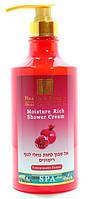 Увлажняющий крем-гель для душа с маслом  Health & Beauty Граната 780мл (7290012326608)