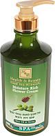 Увлажняющий крем-гель для душа Health & Beauty  с оливковым маслом и медом 780мл (7290012326295)