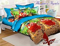 Комплект постельного белья полуторный ТМ Таg Тимон и Пумба