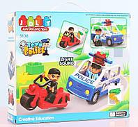 Конструктор Jun Da Long Toys Полиция 7