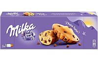 Бисквиты Milka Choco Twist с кусочками молочного шоколада, 140 г