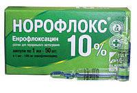 Норофлокс 10% оральный 1мл №50