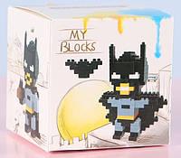 Конструктор LELE Brother Бетмен 3 в 1 (6136)