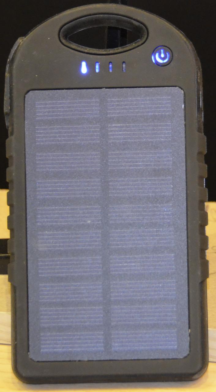 Мощный Power Bank Samsung  10000 mAh. Внешний аккумулятор, зарядное. Солнечная батарея. Гарантия