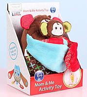 Кукла-игрушка Cottonbebe Мама и малыш, Мартышка  (T22020-1)