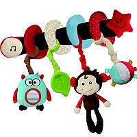 Мягкая игрушка-подвеска Cottonbebe Мартышка  (T22004-1)