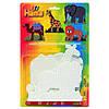 Термомозаика Hama Набор полей для термомозаики  Midi Слон, жираф, лев и верблюд 5+ (4554)