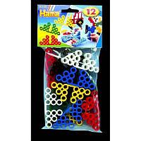 Термомозаика Hama Подставки для фигурок  Maxi 6 цветов 5+ 12 шт (8150)