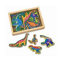 Обучающая игрушка Melissa&Doug Фигурки динозавров  на магнитах (MD476)