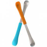 Набор ложек для кормления Boon Swap Orange/Blue (B298)