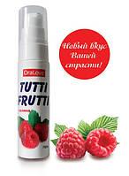 "Съедобный гель ""Tutti-frutti малина"" серии ""Оralove"", 30 мл."