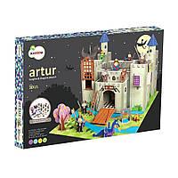 3D конструктор Krooom Рыцарский замок короля  Артура (К-220)