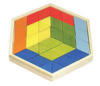 "Дерев'яна іграшка головоломка ""Prism Puzzle"""