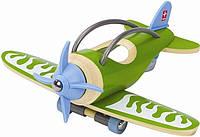 """Дерев'яна іграшка літак з бамбуку """"E-Plane"""""""