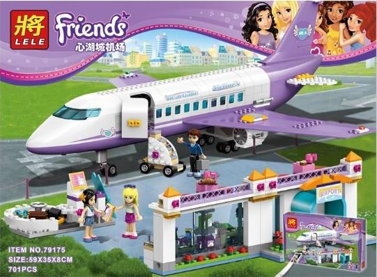 Конструктор Lele серия Friends / Подружки 79175 Городской аэропорт Хартлейка (аналог Lego Friends 41109)