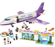 Конструктор Lele серия Friends / Подружки 79175 Городской аэропорт Хартлейка (аналог Lego Friends 41109), фото 2