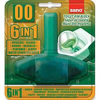 Подвесной блок для туалета Sano 6 в 1 50гр (990047)