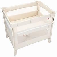 Компактная детская кроватка Aprica COCONEL Air  молочный цвет (4969220660462)