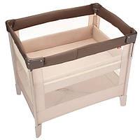 Компактная детская кроватка Aprica COCONEL Air  цвет какао (4969220660479)