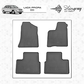 Коврики резиновые в салон Lada Priora 2000- Stingray